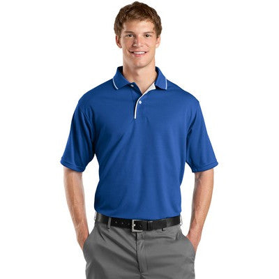 Sport-Tek Men's Dri-Mesh Polo with Tipped Collar & Piping - AIL - EZ Corporate Clothing  - 4