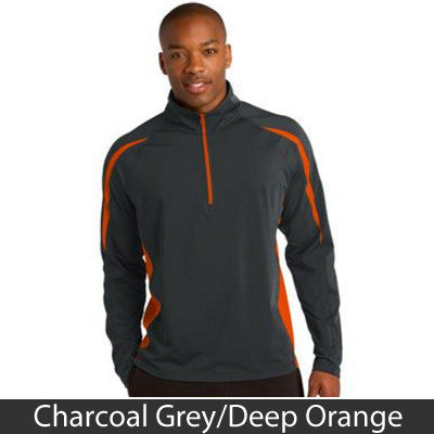 Sport-Tek Stretch 1/2-Zip Colorblock Pullover - Clean Energy Collective - EZ Corporate Clothing  - 5