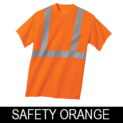 CornerStone Hi-Vis Safety T-Shirt - ANSI 107 Class 2