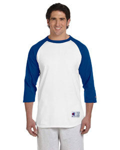 Champion 6.1oz. Tagless Raglan Baseball T-Shirt - EZ Corporate Clothing  - 16