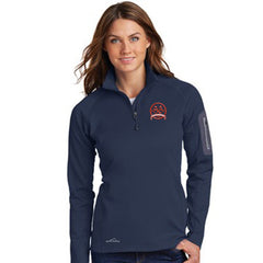 1- Eddie Bauer Ladies 1/2-Zip Performance Fleece Jacket - EB235 - EZ Corporate Clothing  - 1