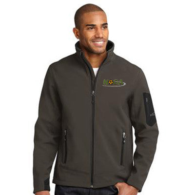1- Eddie Bauer Rugged Ripstop Soft Shell Jacket - EB534 - EZ Corporate Clothing  - 1