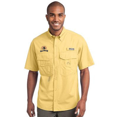 Eddie Bauer Short Sleeve Fishing Shirt - EB608