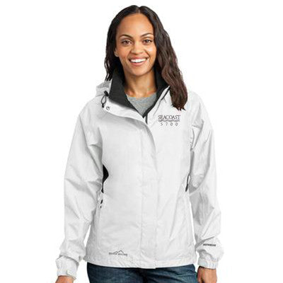 1- Eddie Bauer Ladies Rain Jacket - EB551 - EZ Corporate Clothing  - 1