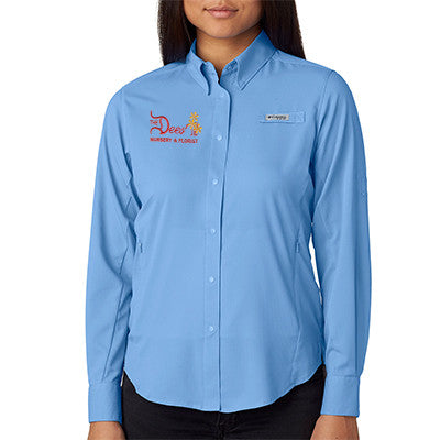 1- Columbia Ladies Tamiami Long-Sleeve Shirt - 7278 - EZ Corporate Clothing  - 1