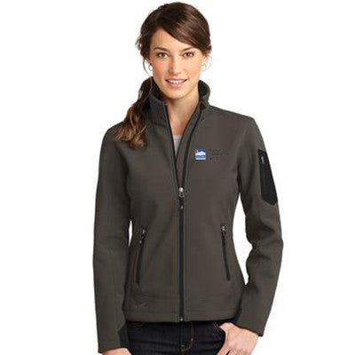 Eddie Bauer Ladies Rugged Ripstop Soft Shell Jacket - EB535