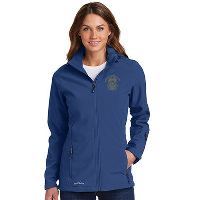 Eddie Bauer Ladies Hooded Soft Shell Parka - EB537
