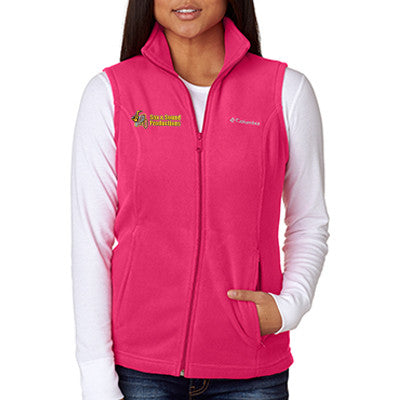 Embroidered Ladies' Soft Shell Vest