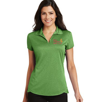 Port Authority Ladies Trace Heather Polo - L576