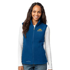 1- Eddie Bauer Ladies Fleece Vest - EB205 - EZ Corporate Clothing  - 1