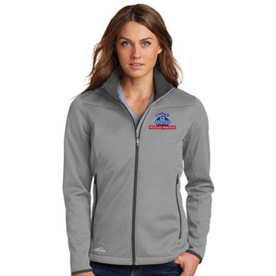 Eddie Bauer Fleece >> Eddie Bauer Ladies Weather Resist Soft Shell Jacket - Work Gear