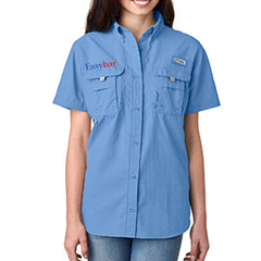 1- Columbia Ladies Bahama Short Sleeve Shirt - EZ Corporate Clothing
