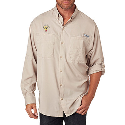 Columbia sportswear for men embroidered no minimum for Custom shirt embroidery no minimum
