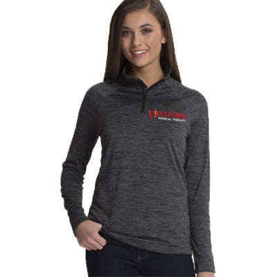 Charles's River Women's Space Dye Performance Pullover - WestArm Therapy - 5763