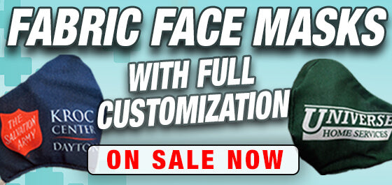 Custom Face Masks with Logo or Text