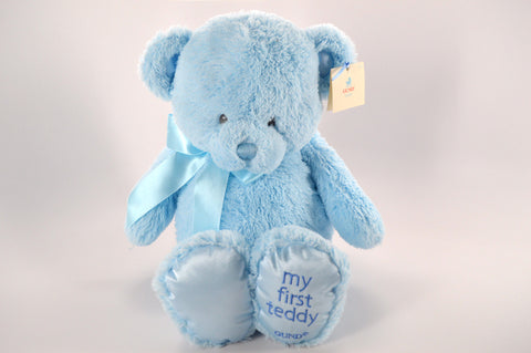 """My First Teddy"" Blue"