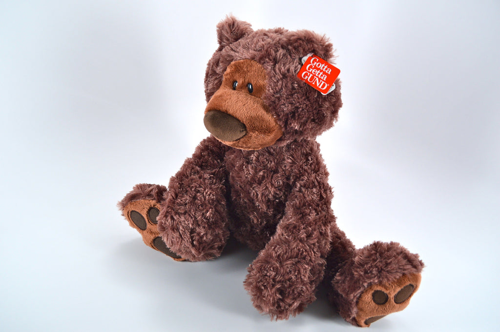 Chocolate Brown Gund Bear