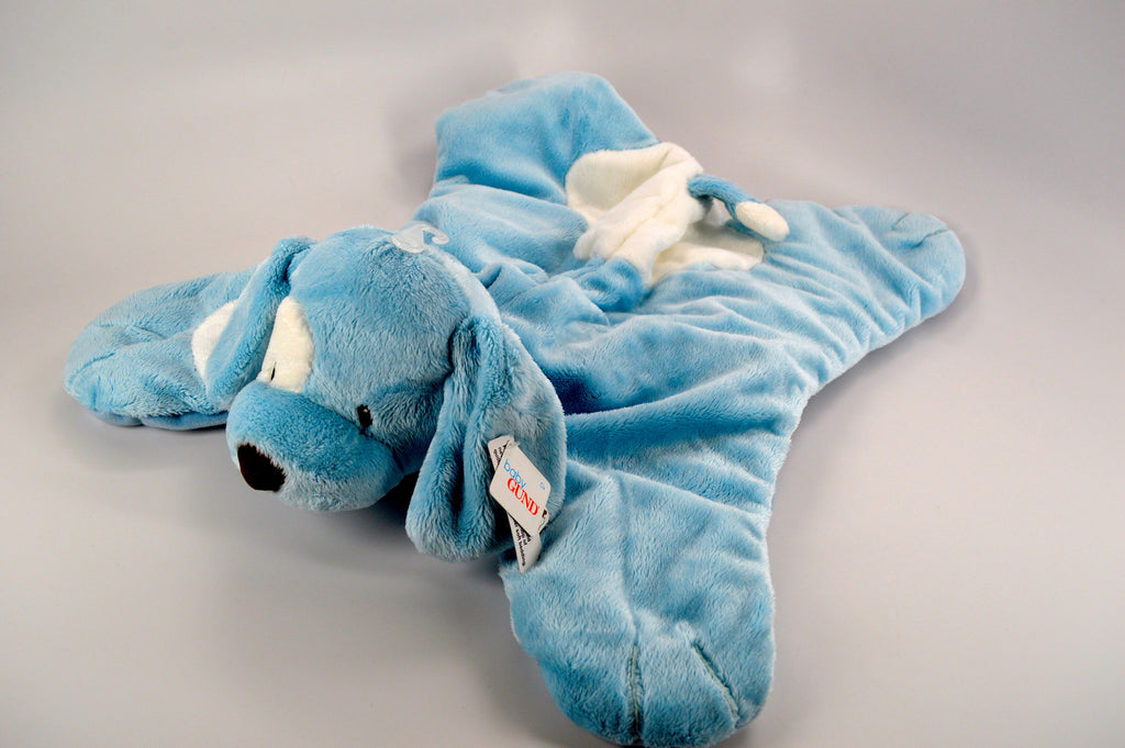 """Comfy Cozy"" Blue Dog"