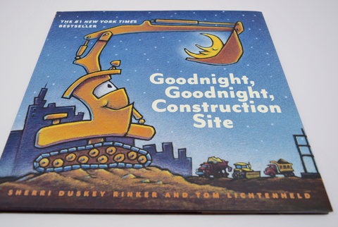 Goodnight Construction Site- Book