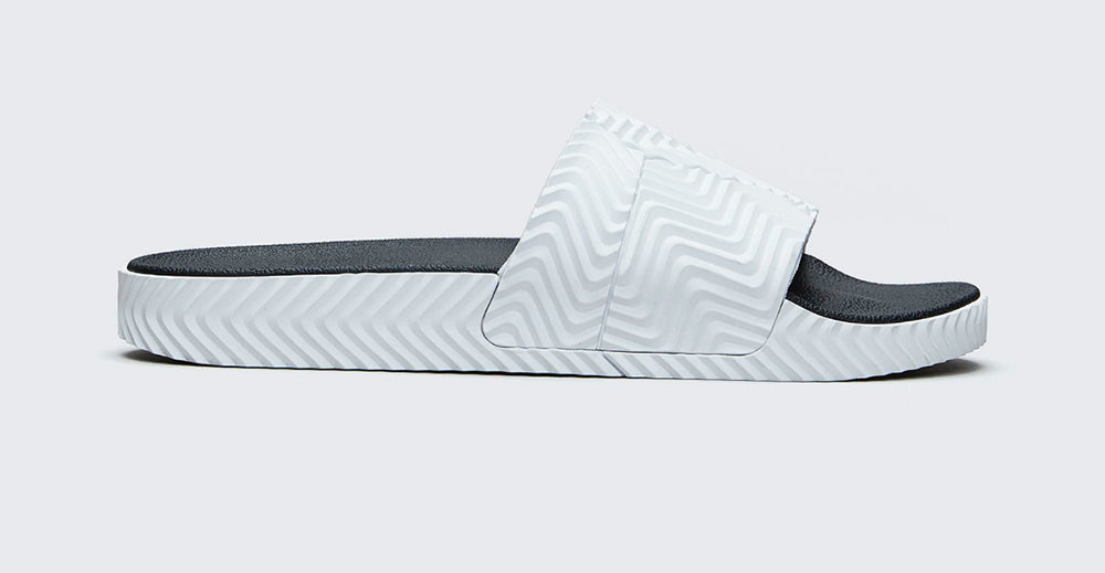 ADIDAS ORIGINALS BY AW ADILETTE SLIDES