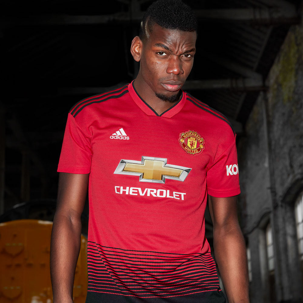 ADIDAS AND MANCHESTER UNITED LAUNCH NEW HOME KIT FOR SEASON 18/19