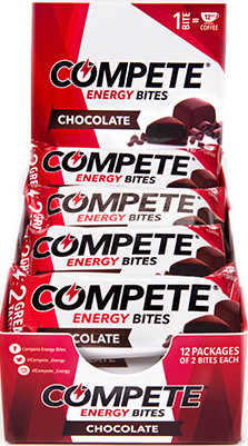 COMPETE<sup>®</sup> Energy Bites <span>12 Pack Dispenser (2 bite packs)</span>