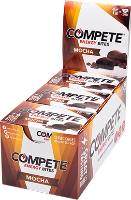 COMPETE<sup>®</sup> Energy Bites <span>12 Pack Dispenser (6 bite boxes)</span>