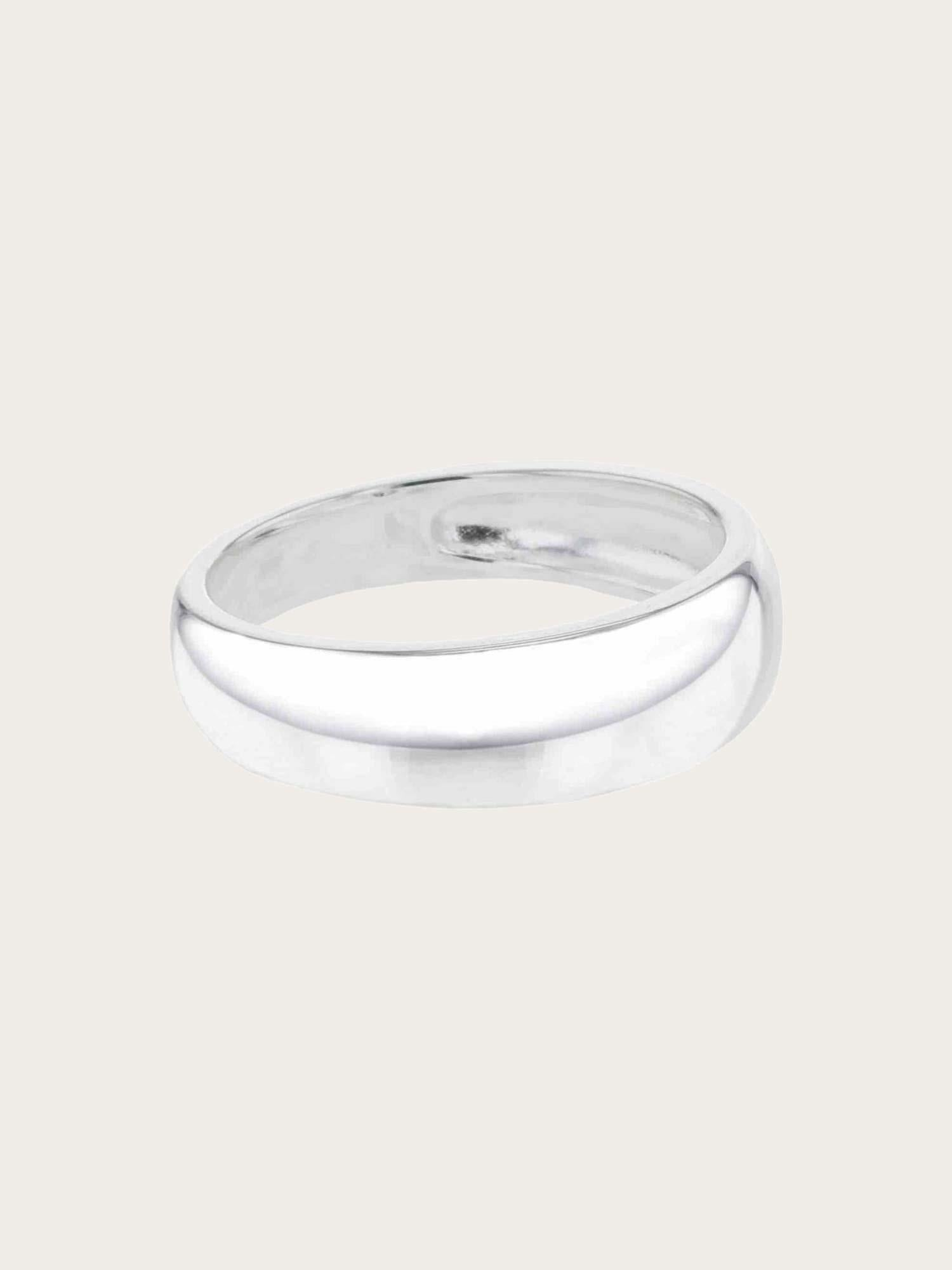 Elements - Classical Perspective Ring Silver