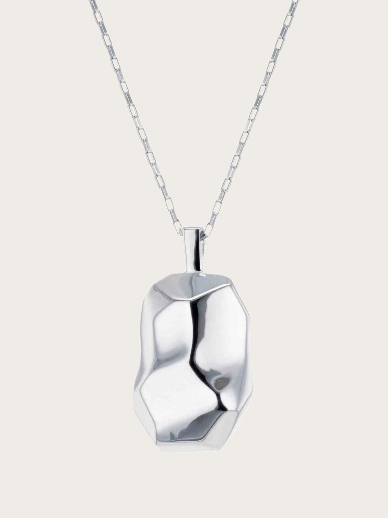 Elements - Braque Necklace Silver