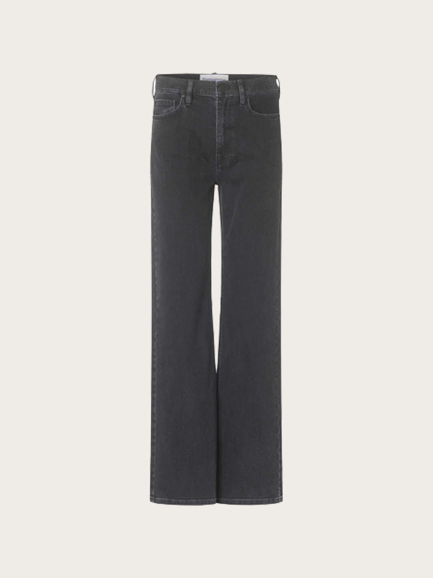 Brown Straight Jeans Original Black