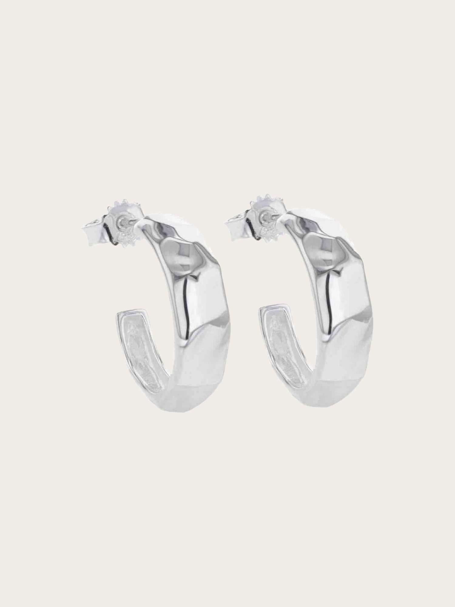Elements - Picasso Hoops Silver
