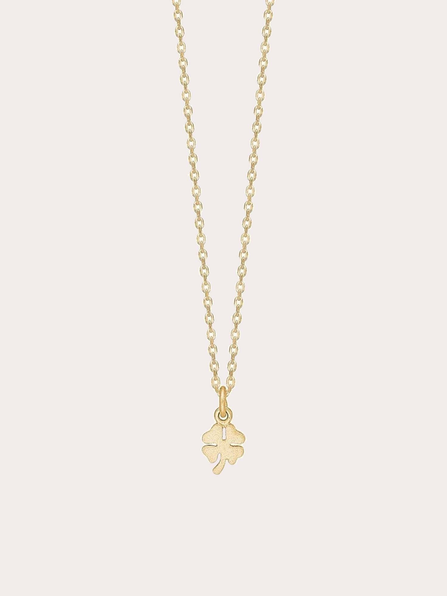 Necklace Clover Gold