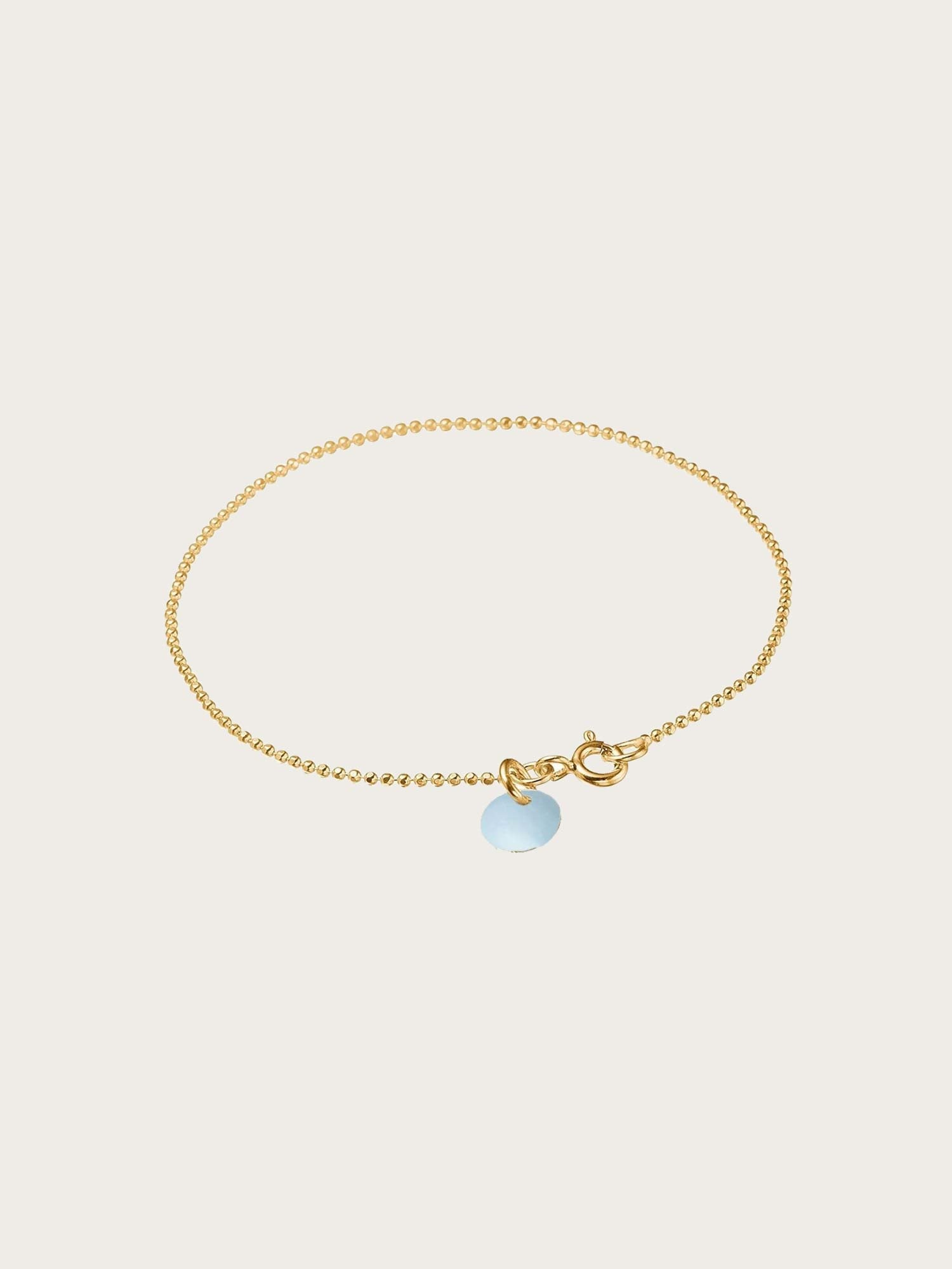 Bracelet Ball Chain Icy Blue