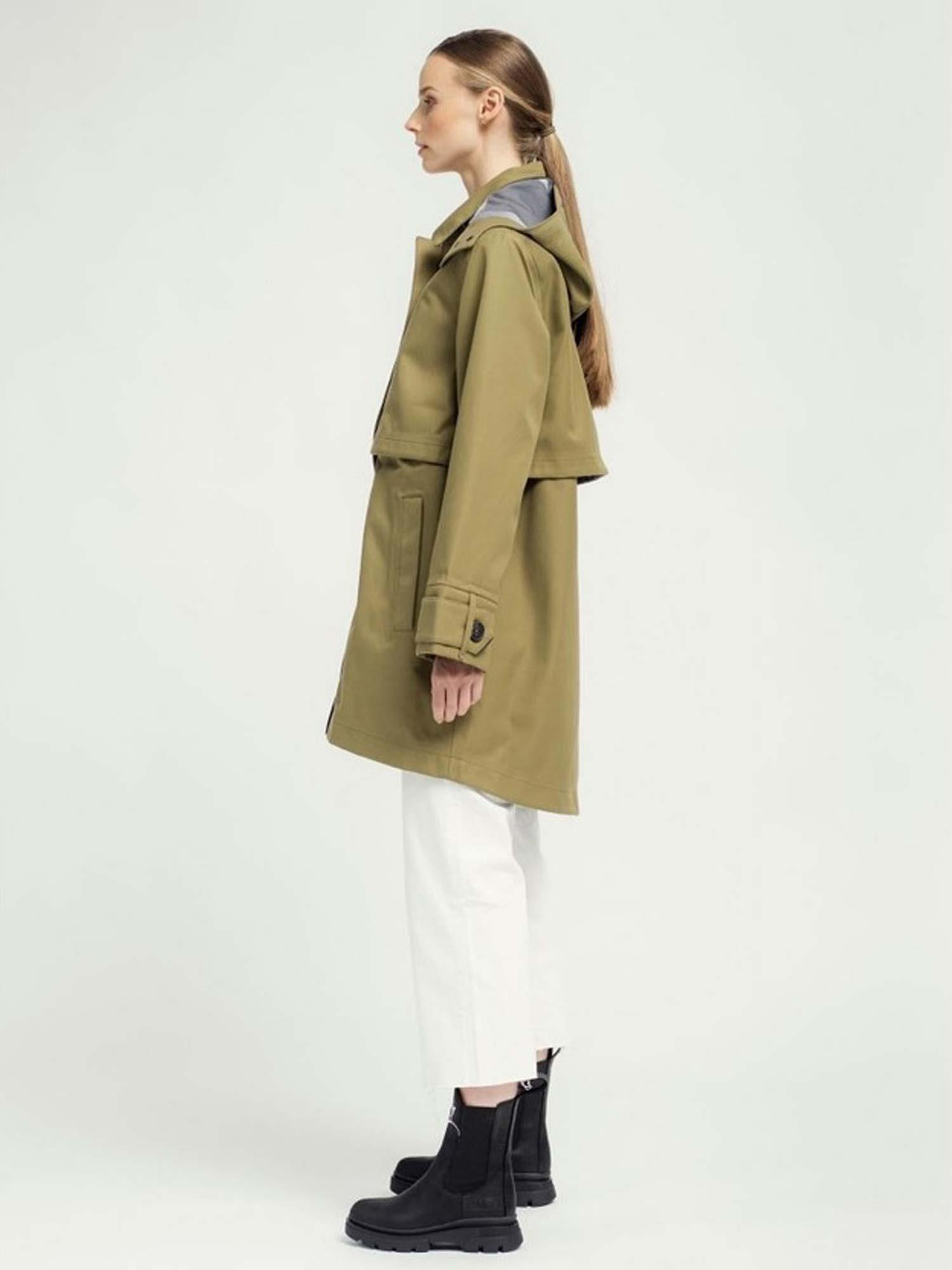 Lyn Coat Lizard Green