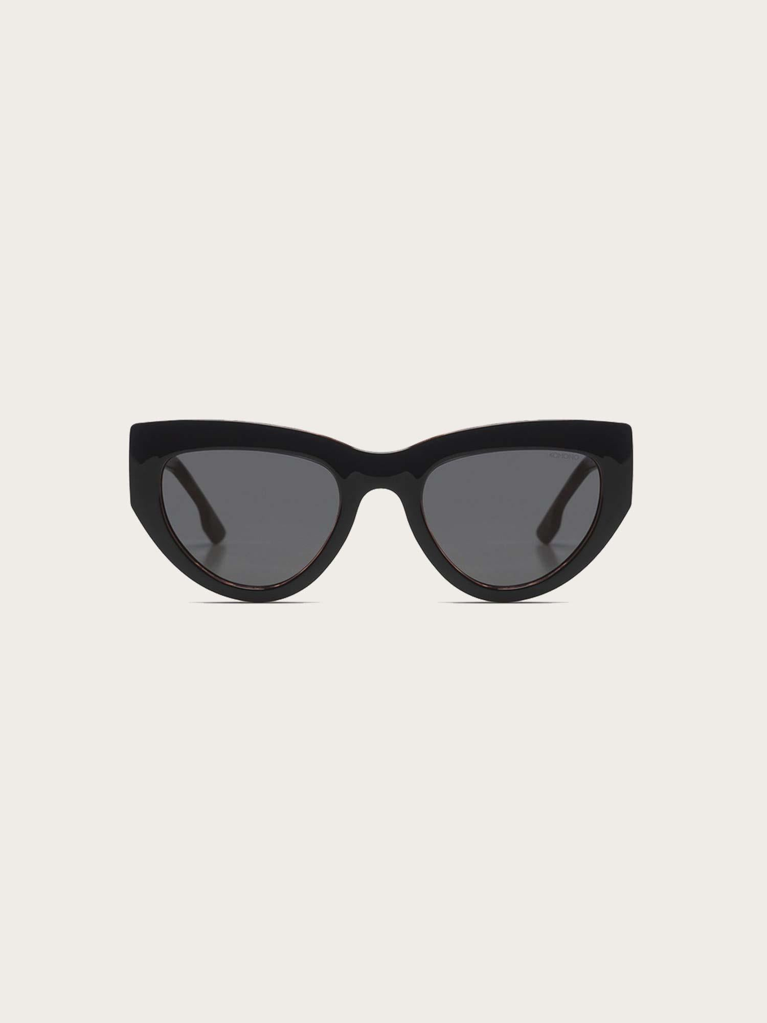 Kim Sunglasses Black Tortoise