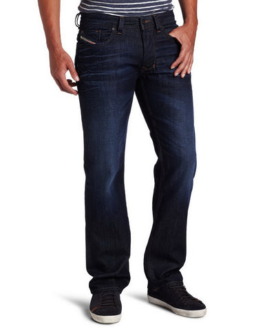 Diesel Mens Larkee Regular Straight-Leg Jean 0073N inseam 30