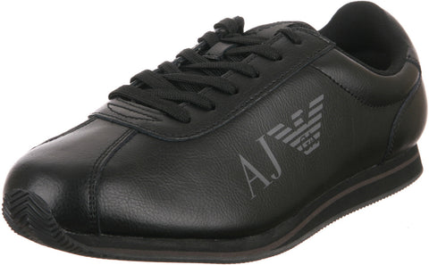 ARMANI JEANS MENS SNEAKERS IN BLACK (0M533A-12)