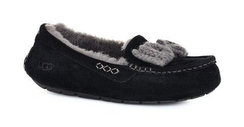 UGG AUSTRALIA  Womens ANSLEY KNIT BOW 1009192-BLK