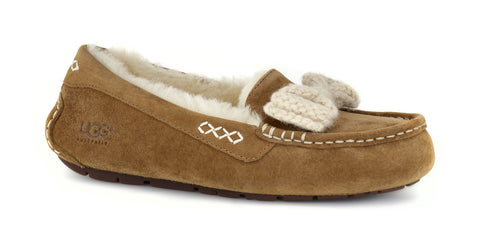 UGG AUSTRALIA  Womens ANSLEY KNIT BOW 1009192-CHE