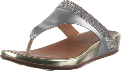 FitFlop BANDA MICRO-CRYSTAL TOE-POST Slippers 473-308