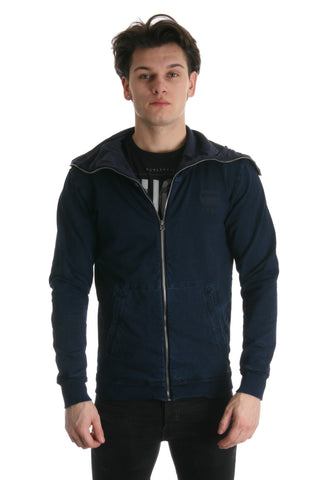 G-star Mens Hooded Jacket in indigo style 85021E-5850-89