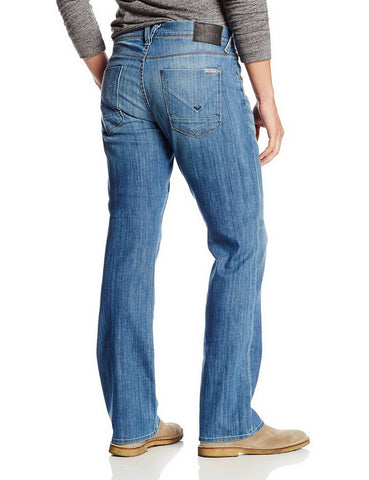 Hudson Clifton 5 PKT Bootcut Zip Fly Jeans In Comrade (M135ZDHA-CMDE)