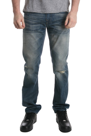 True Religion QUICK FADE DENIM RICKY W/FLAP Mens Jeans MES859NND2-BXFM