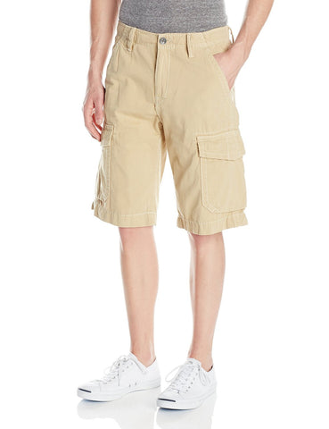 TRUE RELIGION TROOPER CARGO SHORTS BBA STRAW MNQB078NJ0-2512