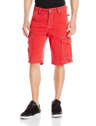 TRUE RELIGION TROOPER CARGO SHORTS BBA RED MNQB078NJ0-6117