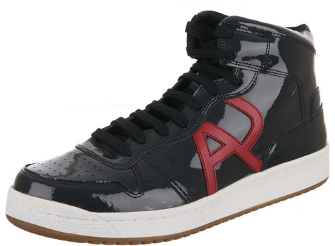 ARMANI JEANS MENS HIGH-TOP SNEAKERS ZM519-5E
