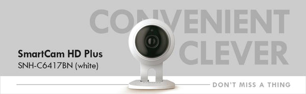 Introducing Our Brand New Samsung Wisenet IP Camera, the SNH-C6417BN