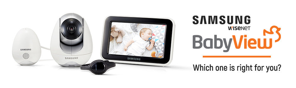 Is Our Brand New Samsung Wisenet Baby Monitor (SEW-3057W