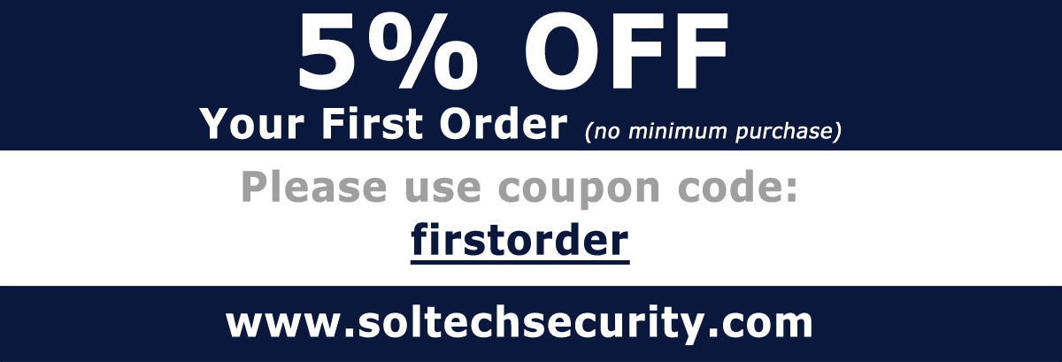 5% off first order coupon