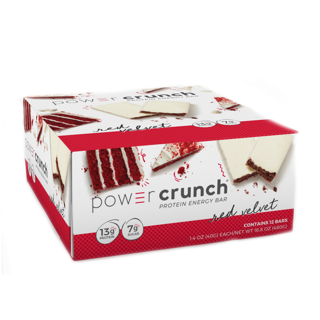 Power Crunch Bar:  Red Velvet Box
